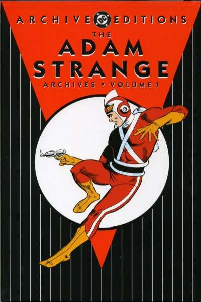 Adam Strange Archives - Hardcover #1 comic books - cover scans photos Adam Strange Archives - Hardcover #1 comic books - covers, picture gallery