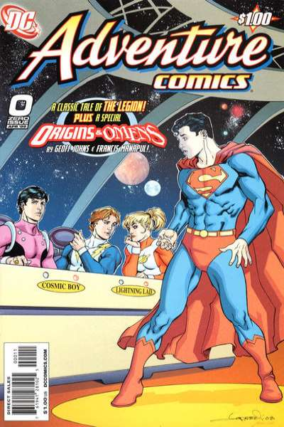 Adventure Comics #0 comic books for sale