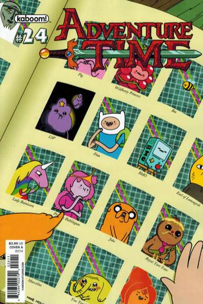Adventure Time #24 comic books for sale