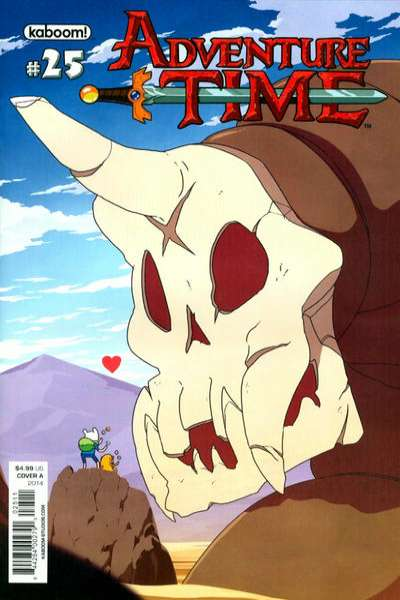 Adventure Time #25 comic books for sale