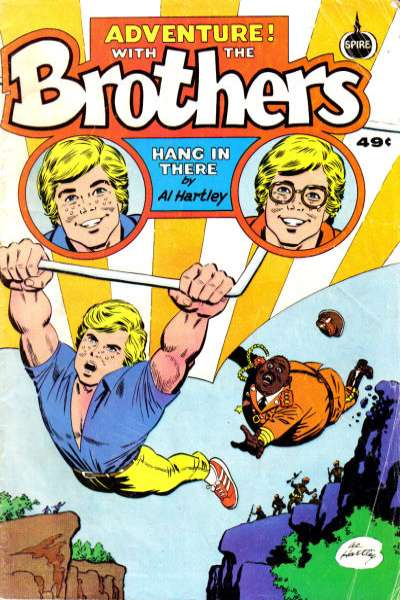 Adventure! with the Brothers Hang in There #1 comic books - cover scans photos Adventure! with the Brothers Hang in There #1 comic books - covers, picture gallery