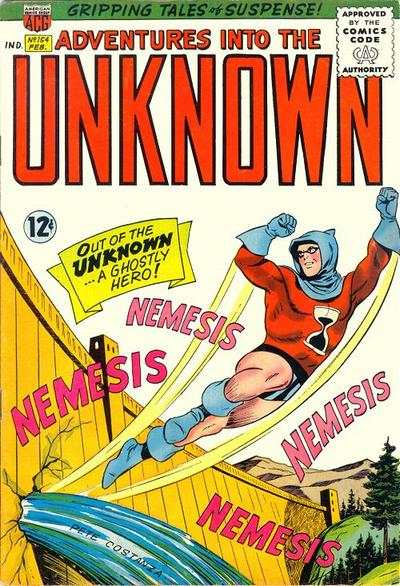 Adventures into the Unknown #154 comic books - cover scans photos Adventures into the Unknown #154 comic books - covers, picture gallery