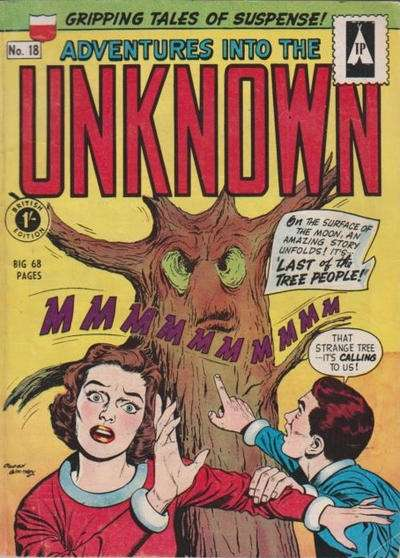 Adventures into the Unknown #18 comic books for sale