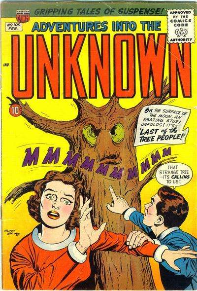 Adventures into the Unknown #105 comic books for sale