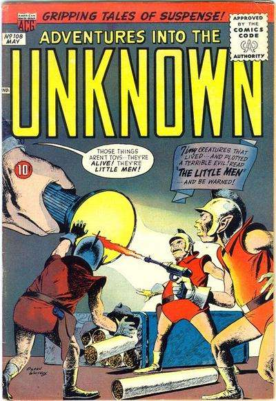 Adventures into the Unknown #108 Comic Books - Covers, Scans, Photos  in Adventures into the Unknown Comic Books - Covers, Scans, Gallery