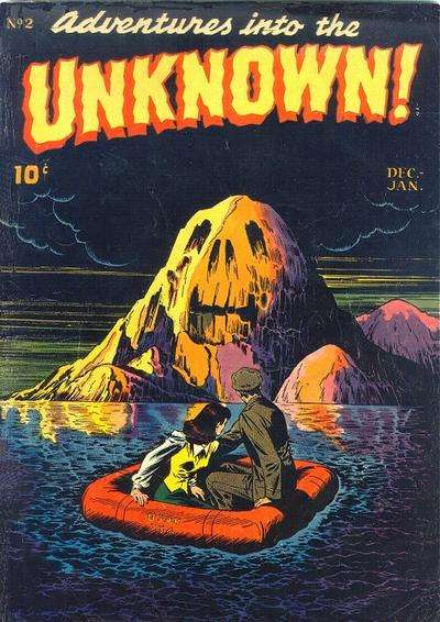 Adventures into the Unknown #2 Comic Books - Covers, Scans, Photos  in Adventures into the Unknown Comic Books - Covers, Scans, Gallery