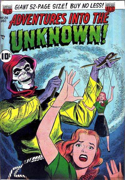 Adventures into the Unknown #26 comic books for sale