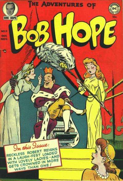 Adventures of Bob Hope #11 Comic Books - Covers, Scans, Photos  in Adventures of Bob Hope Comic Books - Covers, Scans, Gallery