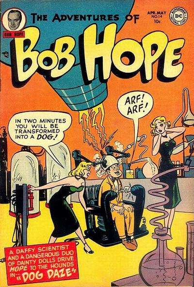 Adventures of Bob Hope #14 Comic Books - Covers, Scans, Photos  in Adventures of Bob Hope Comic Books - Covers, Scans, Gallery