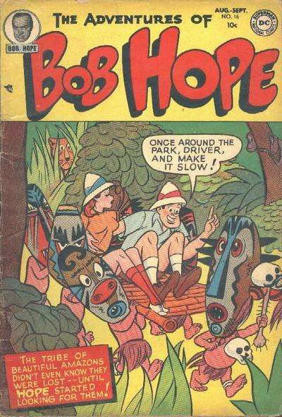 Adventures of Bob Hope #16 Comic Books - Covers, Scans, Photos  in Adventures of Bob Hope Comic Books - Covers, Scans, Gallery