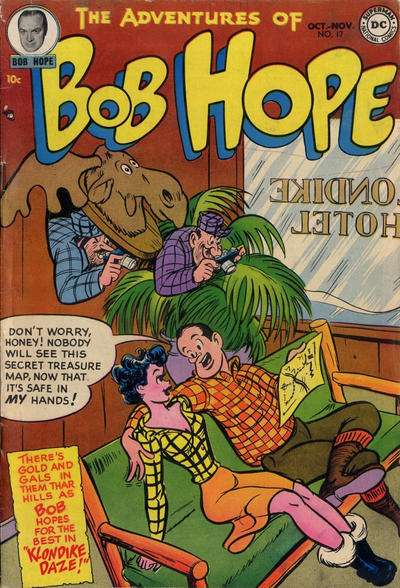 Adventures of Bob Hope #17 Comic Books - Covers, Scans, Photos  in Adventures of Bob Hope Comic Books - Covers, Scans, Gallery