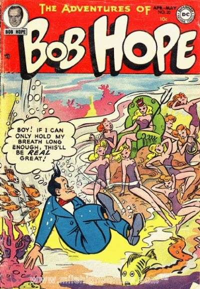 Adventures of Bob Hope #20 comic books - cover scans photos Adventures of Bob Hope #20 comic books - covers, picture gallery