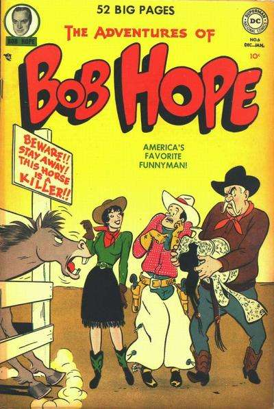 Adventures of Bob Hope #6 comic books for sale