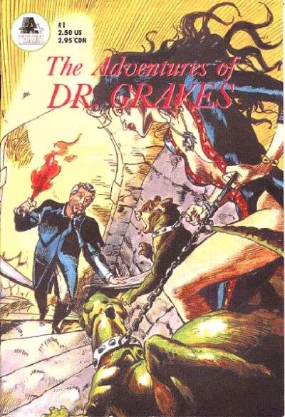 Adventures of Dr. Graves #1 comic books - cover scans photos Adventures of Dr. Graves #1 comic books - covers, picture gallery