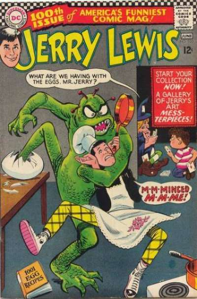 Adventures of Jerry Lewis #100 Comic Books - Covers, Scans, Photos  in Adventures of Jerry Lewis Comic Books - Covers, Scans, Gallery