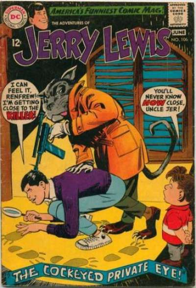 Adventures of Jerry Lewis #106 Comic Books - Covers, Scans, Photos  in Adventures of Jerry Lewis Comic Books - Covers, Scans, Gallery