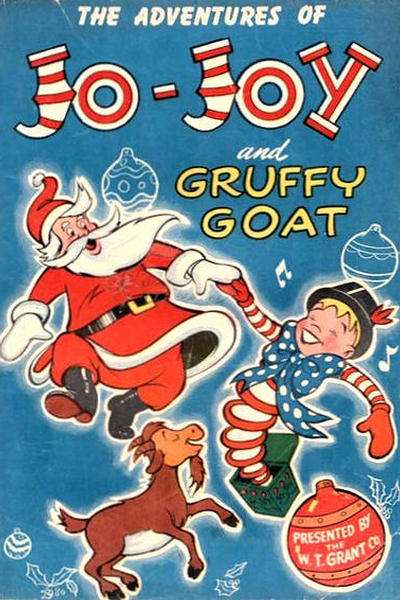Adventures of Jo-Joy and the Gruffy Goat #1 comic books - cover scans photos Adventures of Jo-Joy and the Gruffy Goat #1 comic books - covers, picture gallery