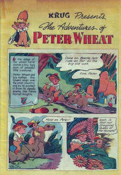 Adventures of Peter Wheat Comic Books. Adventures of Peter Wheat Comics.
