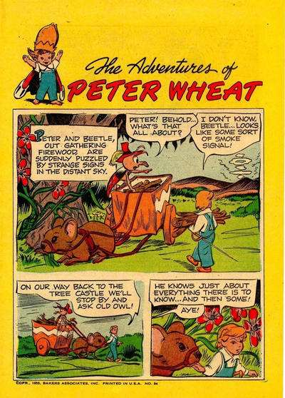 Adventures of Peter Wheat #54 Comic Books - Covers, Scans, Photos  in Adventures of Peter Wheat Comic Books - Covers, Scans, Gallery