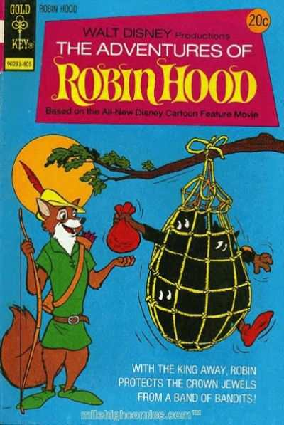 Adventures of Robin Hood #2 comic books - cover scans photos Adventures of Robin Hood #2 comic books - covers, picture gallery
