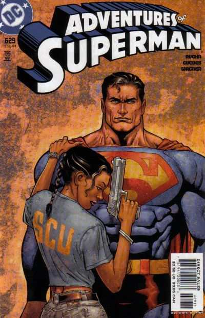 Adventures of Superman #629 comic books - cover scans photos Adventures of Superman #629 comic books - covers, picture gallery