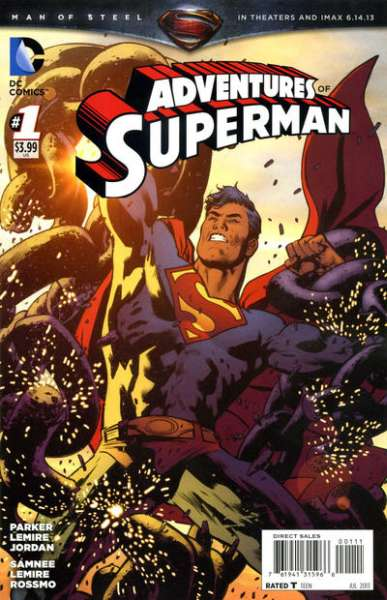 Adventures of Superman Comic Books. Adventures of Superman Comics.