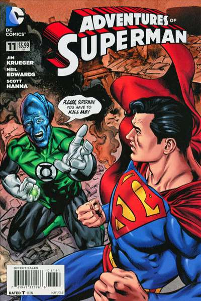 Adventures of Superman #11 comic books - cover scans photos Adventures of Superman #11 comic books - covers, picture gallery