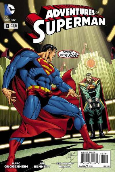 Adventures of Superman #8 comic books for sale