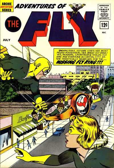 Adventures of the Fly #20 comic books - cover scans photos Adventures of the Fly #20 comic books - covers, picture gallery