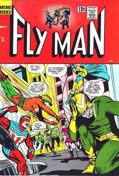 Adventures of the Fly #31 comic books - cover scans photos Adventures of the Fly #31 comic books - covers, picture gallery