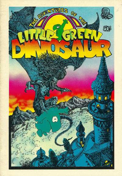 Adventures of the Little Green Dinosaur comic books