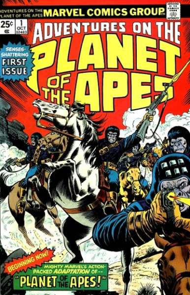 Adventures on the Planet of the Apes comic books