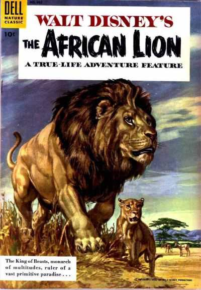 African Lion #1 comic books - cover scans photos African Lion #1 comic books - covers, picture gallery