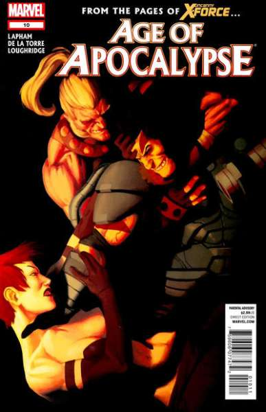 Age of Apocalypse #10 comic books - cover scans photos Age of Apocalypse #10 comic books - covers, picture gallery