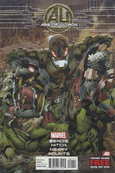 Age of Ultron #1 Comic Books - Covers, Scans, Photos  in Age of Ultron Comic Books - Covers, Scans, Gallery