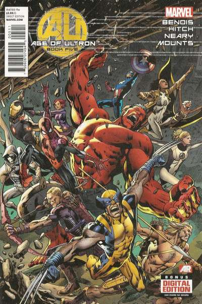 Age of Ultron #5 comic books for sale