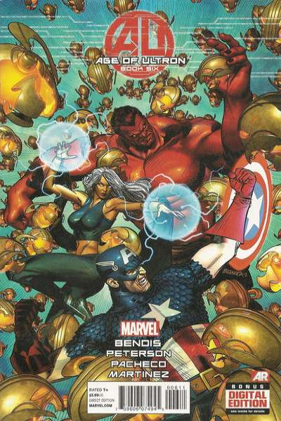 Age of Ultron #6 Comic Books - Covers, Scans, Photos  in Age of Ultron Comic Books - Covers, Scans, Gallery