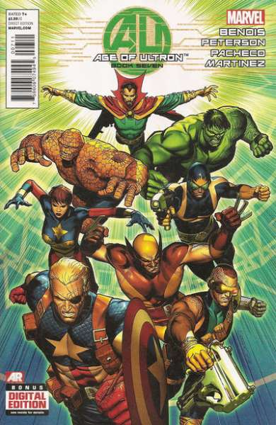 Age of Ultron #7 Comic Books - Covers, Scans, Photos  in Age of Ultron Comic Books - Covers, Scans, Gallery