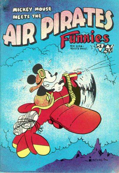 Air Pirates Funnies comic books