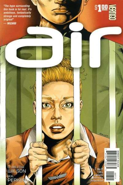 Air #7 Comic Books - Covers, Scans, Photos  in Air Comic Books - Covers, Scans, Gallery