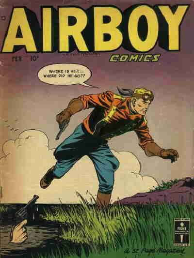 Airboy Comics: Volume 7 comic books