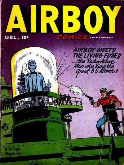 Airboy Comics: Volume 8 #3 comic books for sale