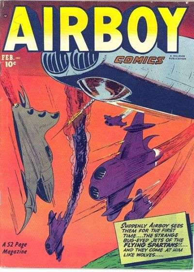 Airboy Comics: Volume 9 comic books