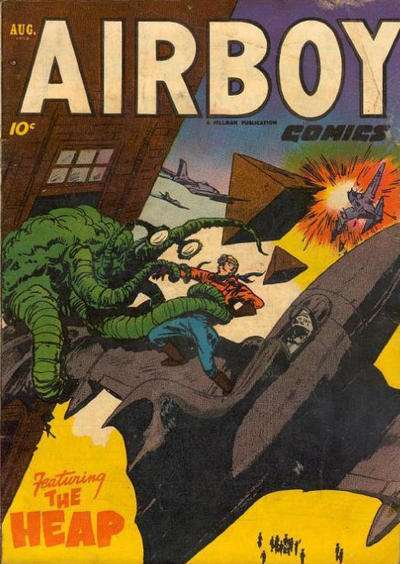 Airboy Comics: Volume 9 #7 comic books for sale