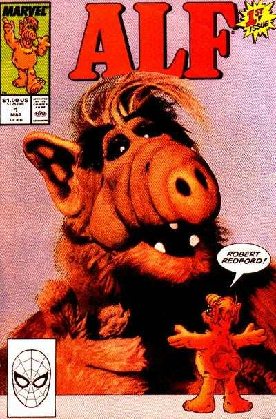 Alf Comic Books. Alf Comics.