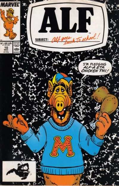 Alf #10 Comic Books - Covers, Scans, Photos  in Alf Comic Books - Covers, Scans, Gallery