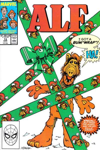 Alf #13 Comic Books - Covers, Scans, Photos  in Alf Comic Books - Covers, Scans, Gallery