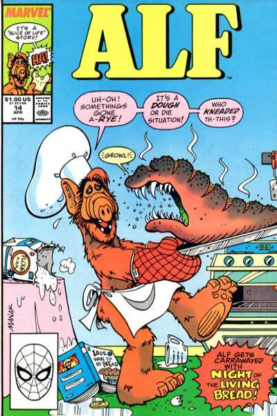 Alf #14 Comic Books - Covers, Scans, Photos  in Alf Comic Books - Covers, Scans, Gallery