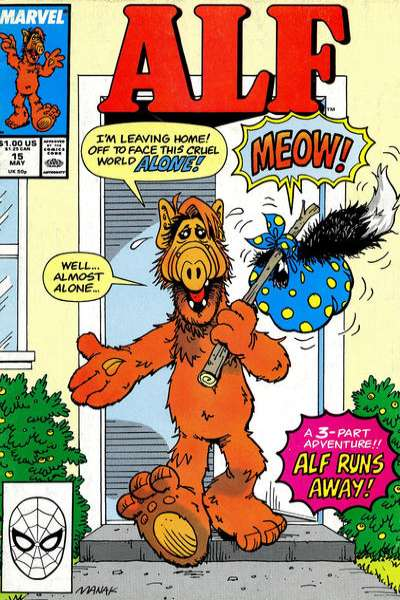 Alf #15 comic books - cover scans photos Alf #15 comic books - covers, picture gallery