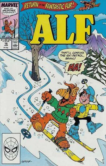 Alf #16 Comic Books - Covers, Scans, Photos  in Alf Comic Books - Covers, Scans, Gallery